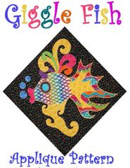 Applique Pattern - Giggle Fish