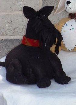 #230 Scotty Dog Pincushion kit
