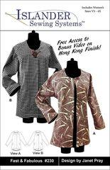 #230 Fast & Fabulous Jacket pattern