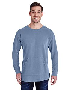 s-m-l-xl -Comfort colors Adult French Terry crew neck with pouch pocket