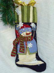 #173 Catching Snowflakes stocking kits