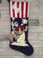 #216 Got your nose christmas stocking kit
