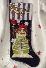 #196 Snowbirds Welcome Christmas Stocking kit