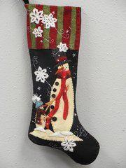 #209 Me and My Dad christmas stocking kit
