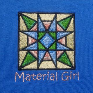 2X Size Quilters Embroidered T shirts !! machine washable , preshrunk, good sized , and fun expressions ! Free Shipping!