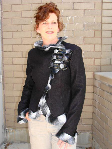 #166 Just Ruffles trendy jacket