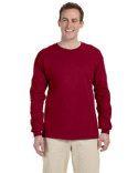 """""""Gildan"""" brand long sleeved t-shirts 2x-3x-4x-5x (cardinal red shown)"""