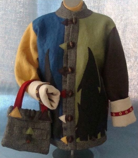 #137 The Woolly Felted jacket
