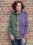 """#176 Plaiditudes"""" jacket ( 2 colors)"""