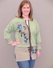 #221 Garden View Stitch n' rip jacket pattern
