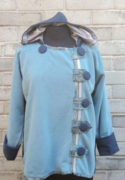 #223 The Hoodie Swing jacket