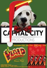 CCP's Plaid Tidings, The Musical - December 21, 2019 - **Saturday Matinee Dinner Theatre**