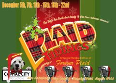 CCP's Plaid Tidings, The Musical - December 7, 2019 - **Saturday Matinee Dinner Theatre**