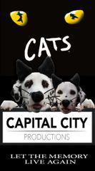 CCP's Cats, The Musical - June 13, 2020 - **Saturday Matinee** Dinner Theatre