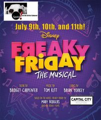 Disney Freaky Friday, The Musical! - July 11, 2020 - Saturday Evening Cabaret