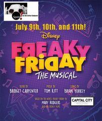 Disney Freaky Friday, The Musical! - July 11, 2020 - **Saturday Matinee** Cabaret