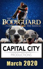 CCP's Bodyguard, The Musical - March 26, 2020 - Thursday Evening Dinner Theatre