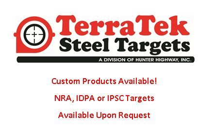 Custom Products, NRA, IDPA, IPSC on a Quote Basis