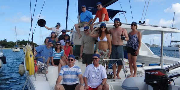 Flotilla give you the added safety and social aspects of sailing with other yachts