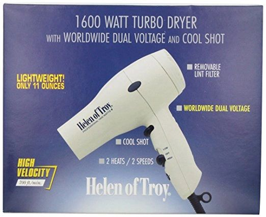 Helen of Troy 6029 Turbo Styling Dryer, White