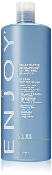 Enjoy Therapeutic Volumizing Shampoo, 33 Fluid Ounce