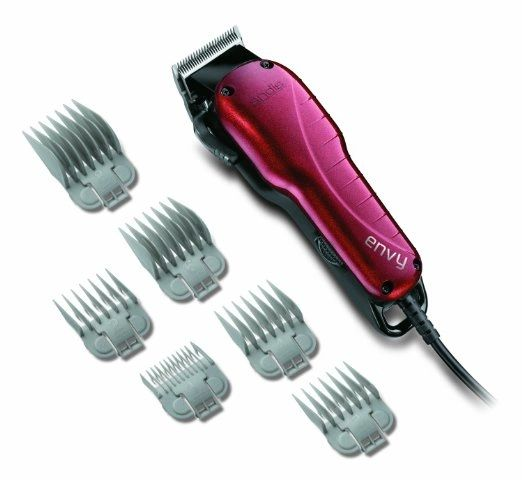 Andis Envy Hair Clipper, Red (66215)