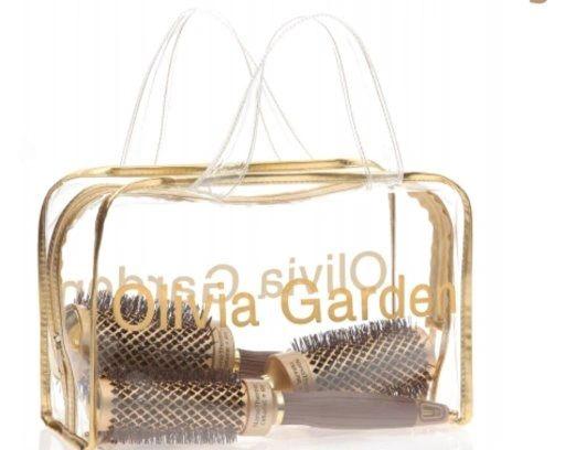 Olivia Garden NanoThermic Ceramic + Ion Round Thermal 3 Brush Kit