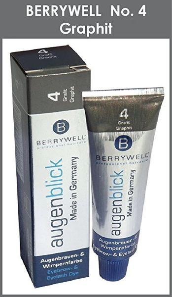 Berrywell Augenblick GRAY - GRAPHITE (No. 4) GREY Tint Hair Dye from Germany