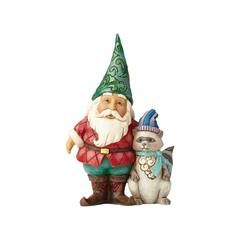 Welcome Christmas Critters - Winter Wonderland Santa Gnome with Critter