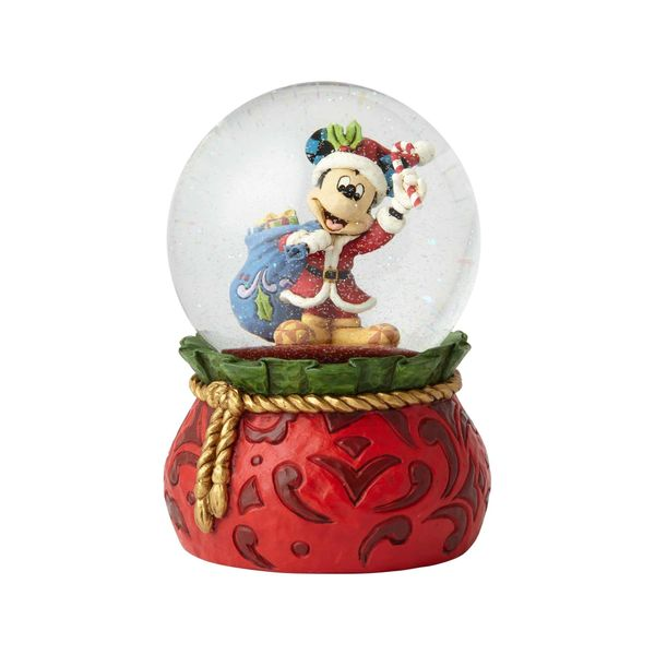 """Brining Holiday Cheer"" - Mickey Water Globe"