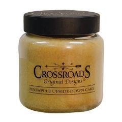 Pineapple Upside Down Cake Jar Candle, 16oz