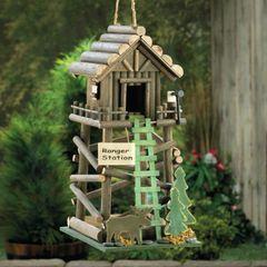 Wood Ranger Station Bird House