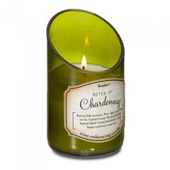 Wine Bottle Scented Candle - Chardonnay