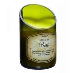 Wine Bottle Scented Candle - Rose