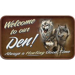 Welcome To Our Den Welcome Mat