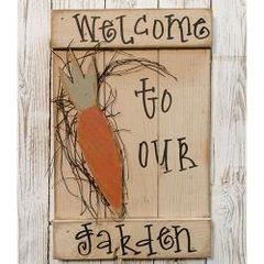Welcome to Our Garden Shutter