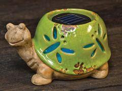 Solar Garden Turtle