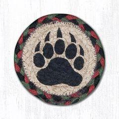 Bear Paw Coaster Set