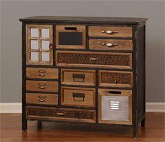 Cabinet - 12 Drawers, Door