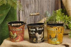 Farm Fresh Eggs - Small Buckets Assorted
