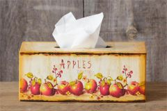 Tissue Box Cover - Apples, Rectangle