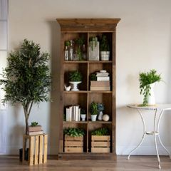 Rustic Wood Cabinet