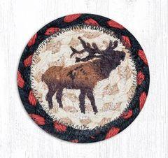 Winter Elk Coaster Set