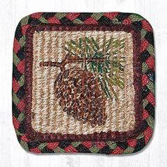 Pinecone Coaster Set of 4