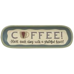 A Grateful Heart Coffee Tray