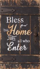 Sign - Bless This Home