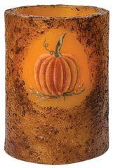 Pumpkin Timer Pillar, Burnt Mustard