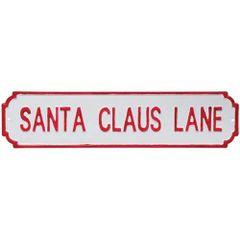 Santa Claus Lane Street Sign