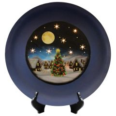 Christmas Eve Decorative Plate