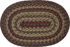 Cinnamon Oval Rug, 20x30